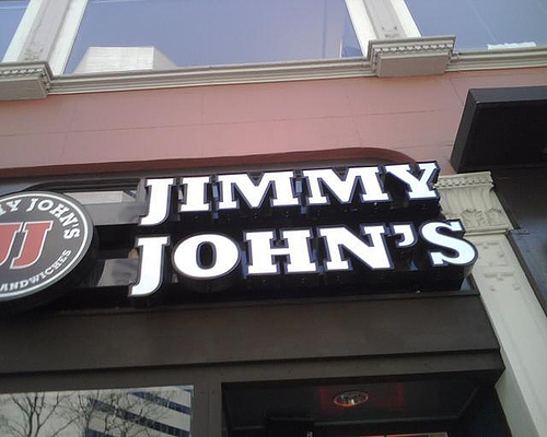 Jimmy John's ing to DC Area DC After Five
