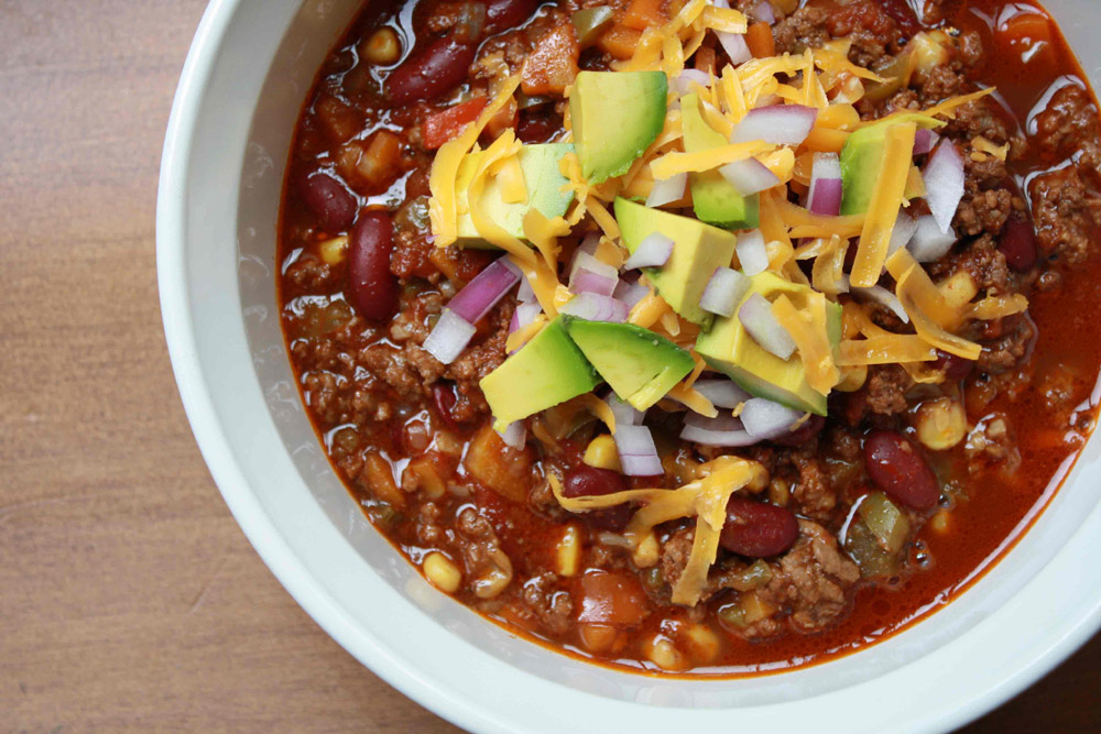 OK, we know you love football and chili. So why not throw the two ...