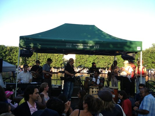 Friday Is Jazz In The Garden 39 S Last Of The Season Dc