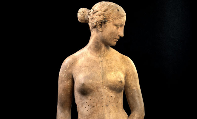 """the greek slave a sculpture by hiram powers essay Joy kasson's essay """"naratives of the female body: the greek slave"""" discusses hiram powers' sculpture the greek slave and how much information it contains on the cultural construction of gender during this time period."""